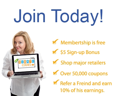 Join RebateCodes for free